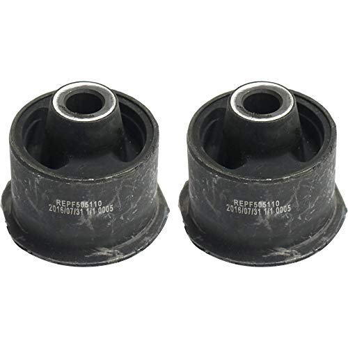 Control Arm Bushing Set of 2 for 2004 Ford Escape Front Left and Right Side Lower Rearward