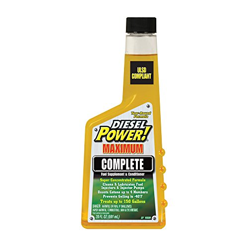 Diesel Power! 15226-6PK Complete Fuel Supplement and Conditioner – 20 oz., (Pack of 6)