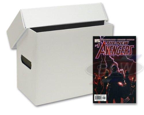 Amazon.com  10 Short Plastic Comic Book Storage Boxes - Black  Storage File Boxes  Office Products  sc 1 st  Amazon.com & Amazon.com : 10 Short Plastic Comic Book Storage Boxes - Black ...