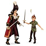 Disney Fairytale Designer Collection Peter Pan and Captain Hook Limited Edition Dolls by Disney