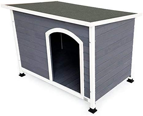 A4Pet Outdoor Wooden Dog House 41LOh6AuF9L