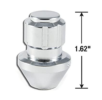 14mm x 1.50 Thread Size, 20-Pack Gorilla Automotive 96643DX Chrome Factory Style Wheel Lock System