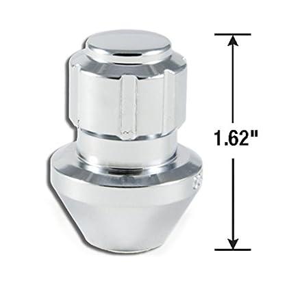 14mm x 1.50 Thread Size, 20-Pack Gorilla Automotive 96643DX Chrome Factory Style Wheel Lock System