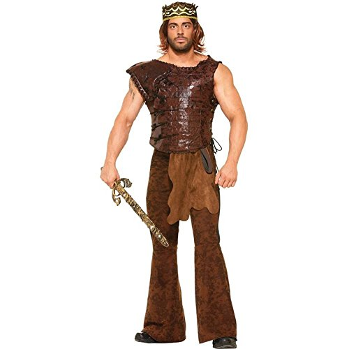 Medieval Fantasy King's Armor Adult Costume X-Large