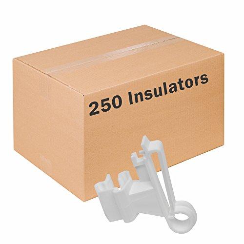 - Zareba Systems ITTW-Z Poly Tape Insulator, Pack of 250