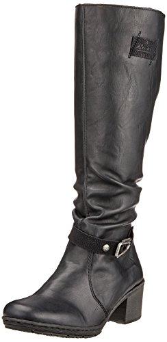 Rieker Women's Y8854 Boots, Black Black (Schwarz/Schwarz 01)