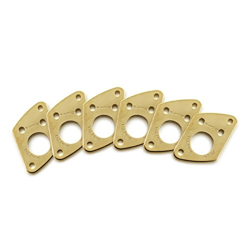PRT-952-217-G0: Ratio InvisoMatch Premium Mounting Plates For F Style Screw Hole - Gold by GTI - Graph Tech Innovations