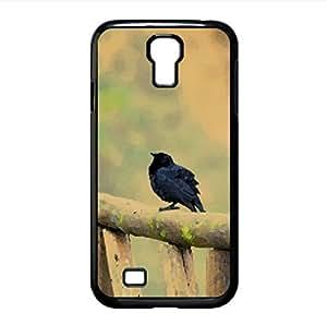 Black Birds Watercolor style Cover Samsung Galaxy S4 I9500 Case (Birds Watercolor style Cover Samsung Galaxy S4 I9500 Case)