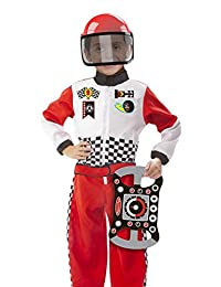 Melissa & Doug Race Car Driver Role Play Costume