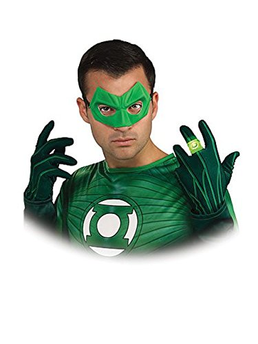 Green Lantern Adult Light Up Ring, Green, One Size