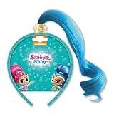 #6: Shimmer & Shine Dress Up Shine blue Fake Hair Aliceband Hairband