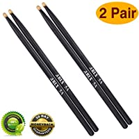 Drum sticks 5a Wood Tip drumsticks Classic Red drum stick...