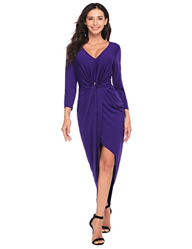 Ruched Front Dress - 7
