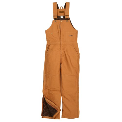 - Five Rock Deluxe Insulated Bib Overalls in Brown 2XL Tall