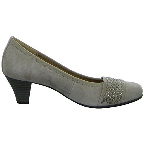 Gabor 65482-12 - Zapatos de vestir de Piel para mujer beige (beige)