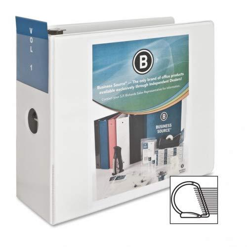 ビジネスソース5インチSlantリングビューバインダー – ホワイト 5 inches B014C0BCPU