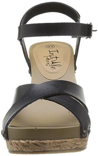 Initiale Renoir - Sandalias de vestir Mujer negro - negro