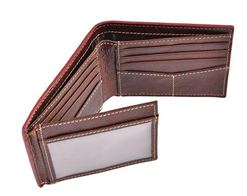 Genuine Leather Tri Fold - 7
