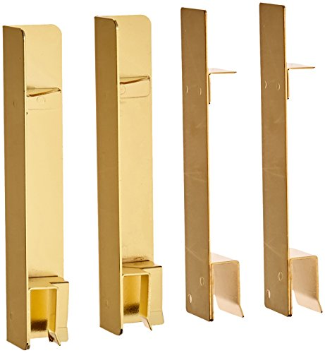 1000 Series Classic Leather Tray Posts in Gold