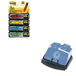 KITMMM684SHROL67060 - Value Kit - Rolodex Petite Open Tray Card File Holds 125 2 1/4 x 4 Cards (ROL67060) and Post-it Arrow Message 1/2amp;quot; Flags (MMM684SH)