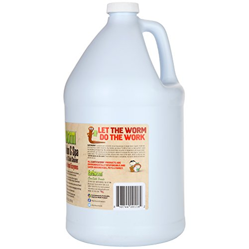 Earthworm Salon & Spa Drain and Sink Cleaner - Drain Opener - Natural Enzymes, Environmentally Responsible, Safer for Pets and Kids - 1 Gallon by Earthworm (Image #1)