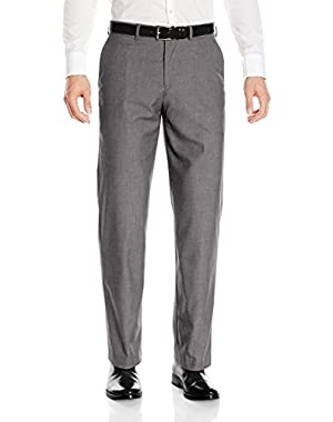 Dress Pants for Men Non-Iron Straight Fit Flat Front Style Trousers