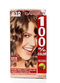 Garnier 100% Color Hair # 610 Lumière Cendré