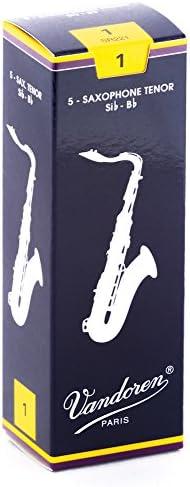 Vandoren Traditionele Tenor Saxofoon Rieten Kracht 1 Hout