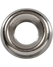 SNUG Fasteners (SNG575) 100 Qty #10 Stainless Steel Countersunk Washers | 304 SS Finishing Cup