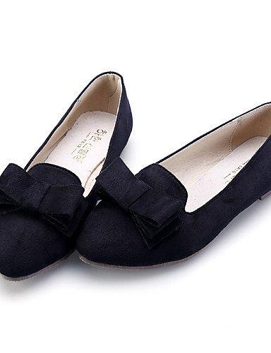 Toe vestido de cn35 cerrado talón 5 comodidad mujer eu36 de Toe zapatos PDX señaló negro Flats 5 Burgundy ante casual azul plano uk3 us5 black rosa OxqdWPv