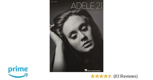 Adele 21 Easy Piano Adele 0884088597795 Amazon Books