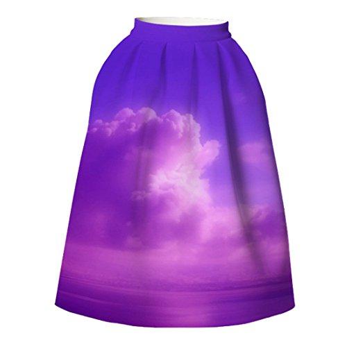 YICHUN Robe Soire de Jupe Line de Shorts Court Jupon Femme A 24 Impression Plage Mini Jupe Plisse Jupe Skirt prATwqpF