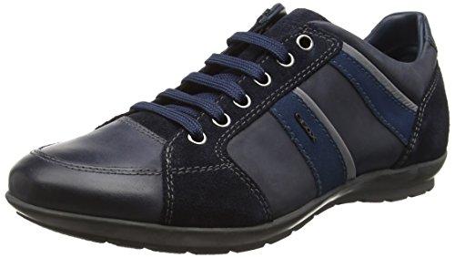 Geox UOMO SYMBOL A - Zapatillas Hombre Blau (NAVYC4002)