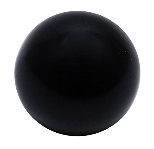 HARMONIZE Black Tourmaline Stone Mini Sphere Ball Reiki Healing Stone Balancing Art Table Decor