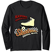 Skaters Gonna Skate Funny Rollerblading T-Shirt Skating Gift