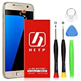 Galaxy S7 Battery Replacement 3200mAh, HETP Upgraded Internal Li-Polymer Battery EB-BG930ABE Replacement for Samsung Galaxy S7 G930 G930V G930T G930A G930P with Free Tool Kit - 18 Month Warranty