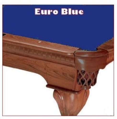 8' Euro Blue ProLine Classic 303 Billiard Pool Table Cloth -