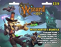 Amazoncom Wizard 101 Witch Hunters Bundle Prepaid Game Card