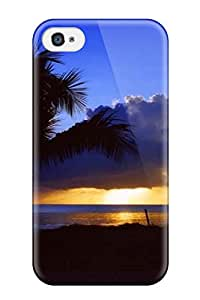 Iphone High Quality Tpu Case/ Amazing Sunset PrYdhVd28879EsCzh Case Cover For Iphone 4/4s