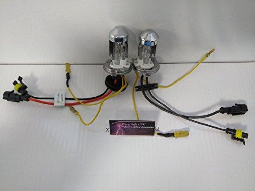 H4 9003 Hi/Low 12000K Violet Xenon HID Light Bulb Set of 2 ()
