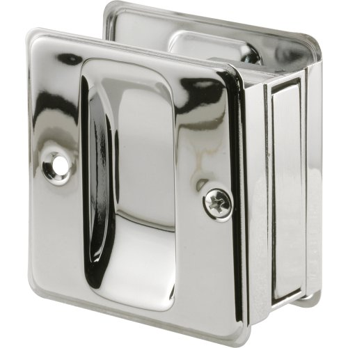 N 7085 Pocket Door Passage Pull, Chrome Plated ()