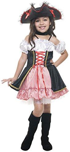 Charades Costumes Sassy Pirate Girl-X-Small (4-6) (Sassy Pirate Costume)