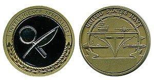us navy intelligence specialist challenge coin navy intelligence specialist