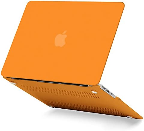 GMYLE Orange Frosted See Through MacBook