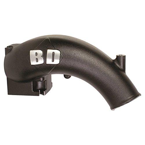 BD Diesel Performance 1041550 Black Powered Coated X-Flow Power Intake Elbow