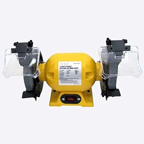 Electric Bench Grinder With 6 Inch Diameter Grinding