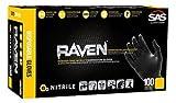 XL RAVEN Nitrile Gloves (7 Packs; 100/Pack) - R3-66519