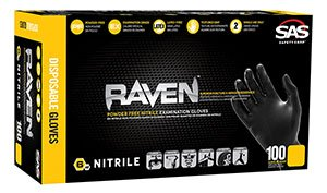XL RAVEN Nitrile Gloves (7 Packs; 100/Pack) - R3-66519