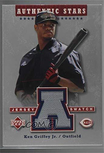 - Ken Griffey Jr. (Baseball Card) 2004 Upper Deck - Authentic Stars Jerseys #AS-KG