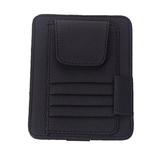Yolu Muti-functional Auto Car Sun Visor Sunglass Holder Card Storage Holder Pouch Bag - Visor Dolly